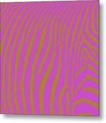 Zebra Shmebra Metal Print