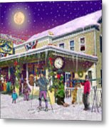 Zebs General Store In North Conway New Hampshire Metal Print