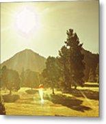 Zeehan Golf Course Metal Print