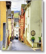 Zell Mosel Village Germany Metal Print