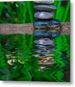 Zen Art And Reflections By Kaye Menner Metal Print
