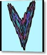 Zen Hearts In Betweens Metal Print