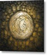 Zen Moon Metal Print