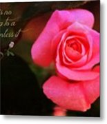 Zen Proverb 2 Metal Print