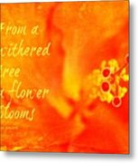 Zen Proverb 3 Metal Print