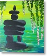Zen Time Metal Print