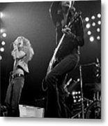 Zeppelin Rocks Metal Print
