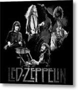 Zeppelin Metal Print by William Walts