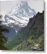 Zermatt Metal Print by Andre Goncalves