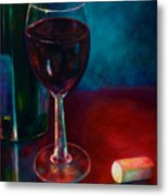 Zinfandel Metal Print by Shannon Grissom