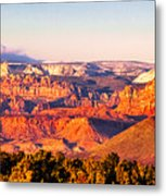 Zion At Sunset Metal Print
