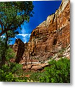 Zion Canyon Metal Print