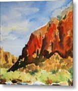 Zion Canyon  Metal Print