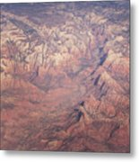 Zion From The Air Metal Print