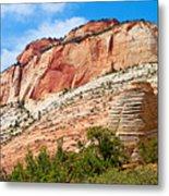 Zion Hike 1 View 2 Metal Print