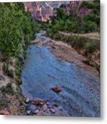 Zion National Park Metal Print