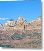 Zion National Park, Valley View Metal Print