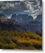 Zion-rock On Metal Print