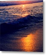 Zipolite Sunset In January 2 Metal Print