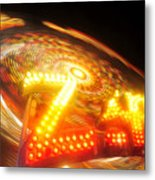 Zipper Metal Print