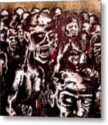 Zombie Army Metal Print