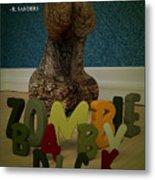 Zombie Baby Dick Metal Print by Robert Sanders