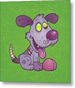 Zombie Puppy Metal Print by John Schwegel