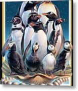 Zoofari Poster 2004 The Penguins Metal Print