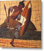 Zulu Warrior Metal Print