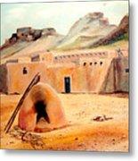 Zuni - Pueblo Metal Print
