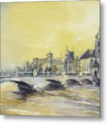 Zurich Sunset- Switzerland Metal Print