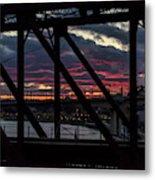 008 - Trestle Sunset Metal Print