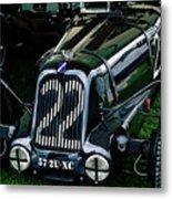 1930's Talbot Lago T23 Race Car Metal Print