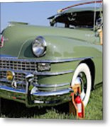 1947 Chrysler Town And Country Woody Metal Print