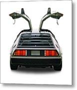 1983 Delorean Coupe Metal Print