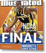2003 Ncaa Final Four Countdown Sports Illustrated Cover Metal Print
