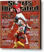 2010 Pac-10 Football Preview Issue Sports Illustrated Cover Metal Print