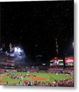 2011 World Series Game 7 - Texas Metal Print