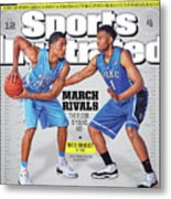 2013-14 College Basketball Preview Issue Sports Illustrated Cover Metal Print