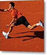 2015 French Open - Day Eleven Metal Print