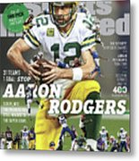 31 Teams, 1 Goal Stop Aaron Rodgers, 2017 Nfl Football Sports Illustrated Cover Metal Print