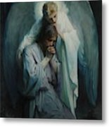 Agony In The Garden, Schwartz Metal Print