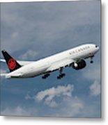 Air Canada Boeing 777-233 Lr Metal Print
