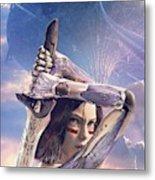 Alita Battle Angel Metal Print