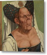 An Old Woman  The Ugly Duchess   Metal Print