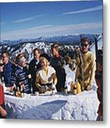 Apres Ski Metal Print