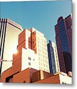 Architecture, Dallas Financial District Metal Print