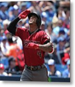 Arizona Diamondbacks V Toronto Blue Jays Metal Print