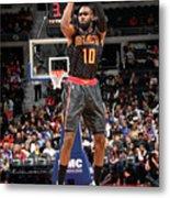Atlanta Hawks V Detroit Pistons Metal Print