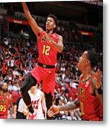 Atlanta Hawks V Miami Heat Metal Print
